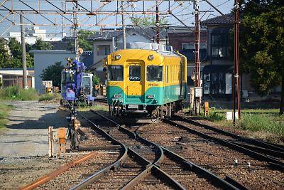 富山地方鉄道・寺田駅