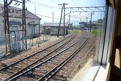特急アルペン号(宇奈月温泉→立山)
