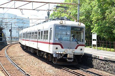 富山地方鉄道14760形(稲荷町)