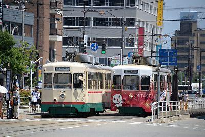 富山地方鉄道軌道線・富山駅前