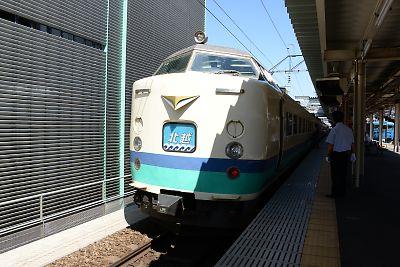 485系特急「北越」(富山駅)