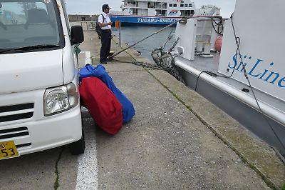 シイライン(脇野沢港)