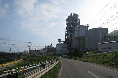 岩屋のセメント工場