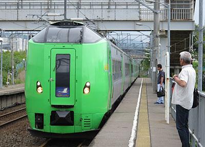 スーパー白鳥(木古内駅)