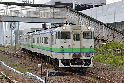 キハ40(木古内駅)