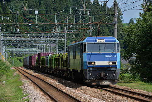 EH200貨物(上越線・大沢駅)