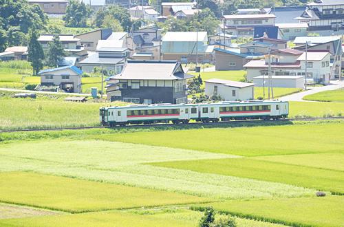 陸羽東線・東長沢駅