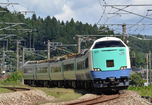 特急北越4号金沢行(越後広田-北条/2014.9.14)