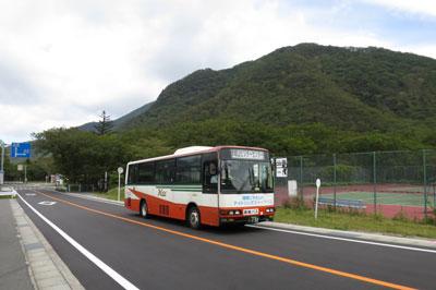 赤城山の路線バス