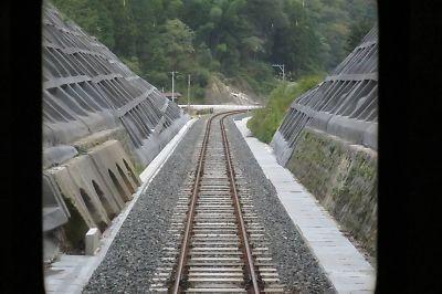 山口線・復旧工事完了区間(船平山-津和野)
