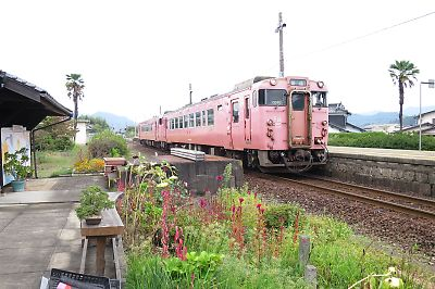 山口線・宮野駅