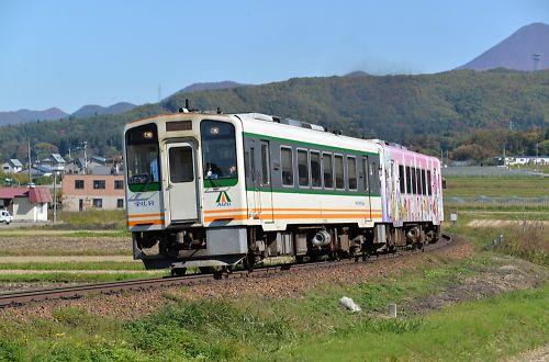会津鉄道・会津長野駅付近
