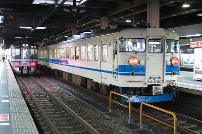 北陸線・475系(金沢駅)
