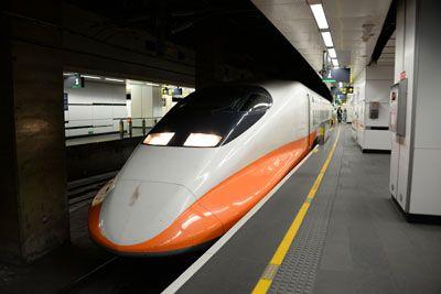 台湾・高鐵(台北駅)