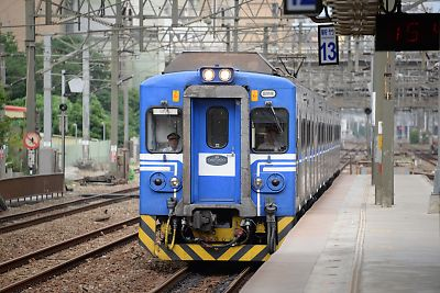新竹駅にて
