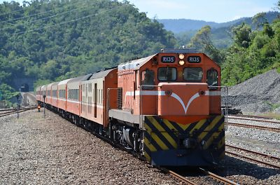 莒光751列車(大武駅)