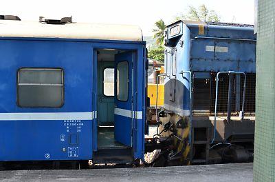 南廻線・普快3671列車(金崙駅)