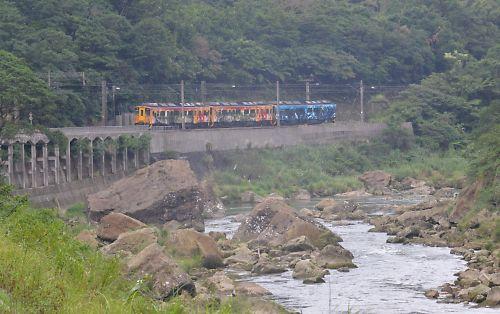 平渓線・宜蘭線撮影地(台湾・三貂嶺駅)