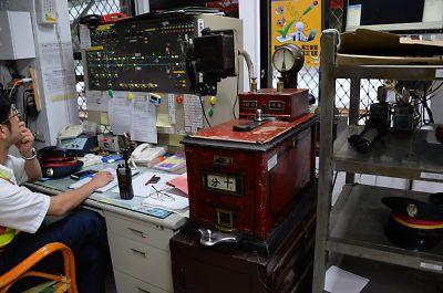 タブレット閉塞機(台湾・三貂嶺駅)