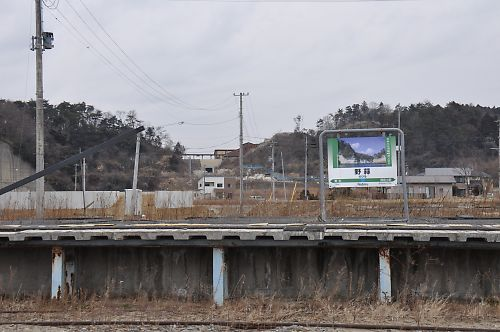 仙石線不通区間の様子(H27.1.30)