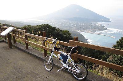 [自転車]八丈島一周ツーリングby dahon dash x20