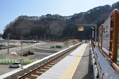 三陸鉄道・北リアス線島越駅