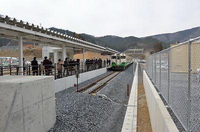 石巻線・女川駅