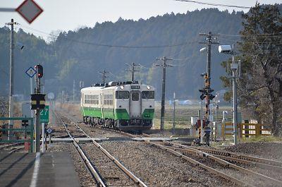 石巻線・前谷地駅
