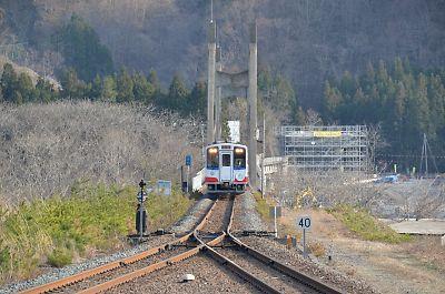 三陸鉄道・小本駅