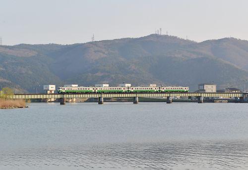 T石巻線キハ40・48の4連(回送)