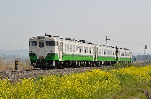 石巻線1626Dキハ48(小牛田-上涌谷)