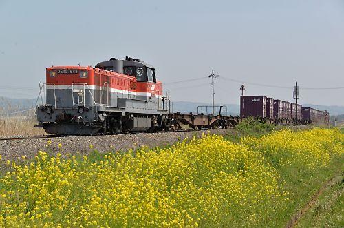 石巻線貨物650列車D(小牛田-上涌谷)