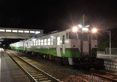 石巻線キハ48・キハ40の4連(1649D)