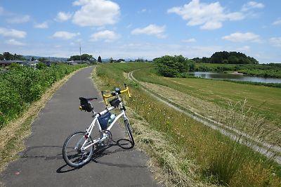 鳴瀬川サイクリングロード