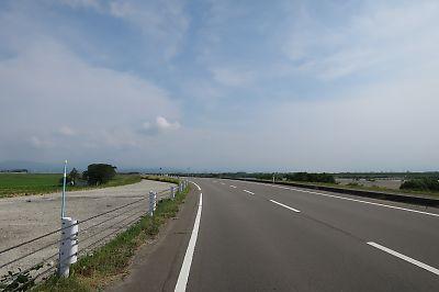 国道344号青沢越え(新庄→清川)by ミニベロ