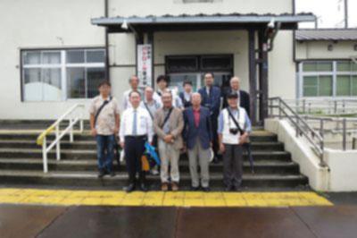 みちのく鉄道応援団主催・旧東仙台駅舎を見る会