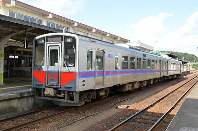キハ126(益田駅)