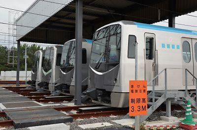 仙台市営地下鉄・2000系(荒井車庫)