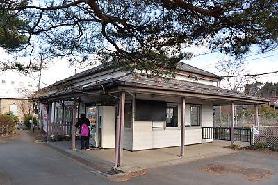 東北本線・安達駅(h27.12.29)