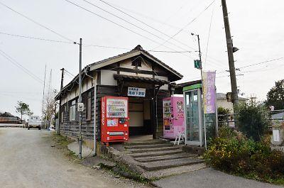 北条鉄道・播磨下里駅