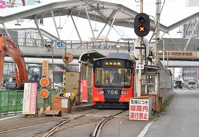 阪堺電車・天王寺駅前