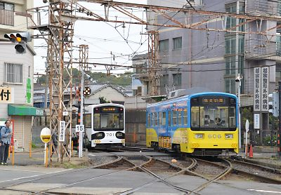 阪堺電車(住吉-住吉公園前)