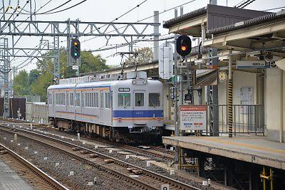 南海電鉄・高師浜線