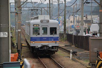 多奈川線・深日港駅