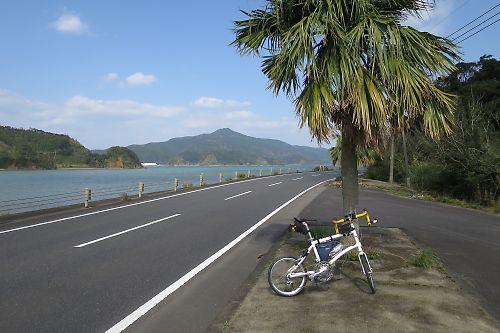 奄美大島西海岸縦断ツーリング(古仁屋→名瀬)by Dahon Dash x20