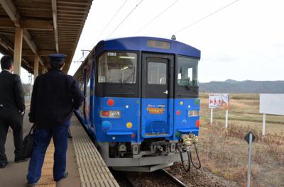阿武隈急行・ラッピング列車