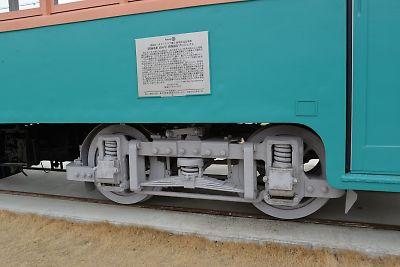 福島交通・旧軌道線車両1116号保存