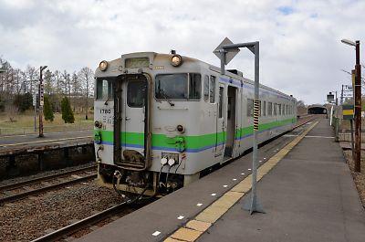 キハ40(石勝線・川端駅)