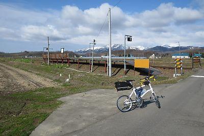 札沼線・南下徳富駅