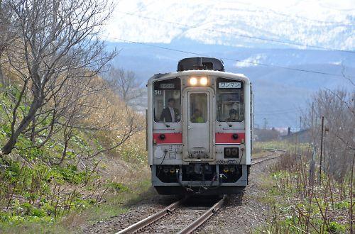 留萌本線深川行・4930D(礼受駅)
